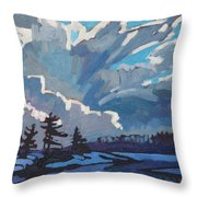 Equinox Cold Front Throw Pillow
