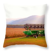 Equipment For Agriculture 2 Throw Pillow