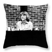 Era Debate, 1978 Throw Pillow by Granger