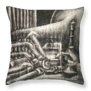 Erasable Still Life Throw Pillow