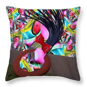 Eraser Throw Pillow
