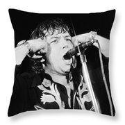 Eric Burdon In Concert-1 Throw Pillow