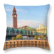 Erie Lackawanna Terminal IIi Throw Pillow