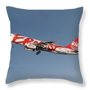Ernest Airbus A320-233 Throw Pillow