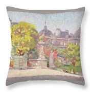 Ernest Moulines Throw Pillow