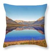 Ernie Lake Throw Pillow