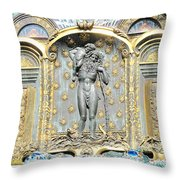 Ernst Fuchs Mural Throw Pillow