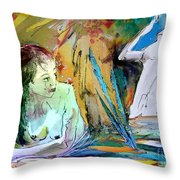 Eroscape 15  1 Throw Pillow