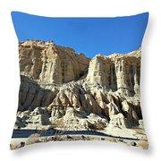 Erosion's Beauty Throw Pillow
