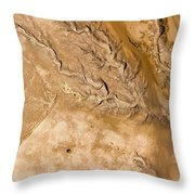 Erosive Patterns Are Emerging Throw Pillow