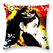 Erotic Mystery Throw Pillow