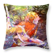 Erotype 06 1 Throw Pillow