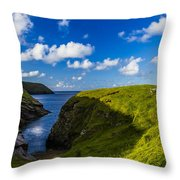 Erris Head, County Mayo, Ireland Throw Pillow