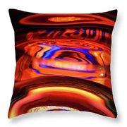 Eruption # 1 Throw Pillow