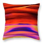 Eruption # 3 Throw Pillow