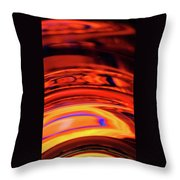 Eruption # 9 Throw Pillow