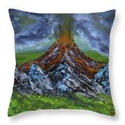 Eruption Throw Pillow