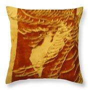 Eruptions Of The Mind - Tile Throw Pillow