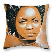 Erykah Throw Pillow