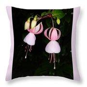 Erythronium  Trout Lily Throw Pillow