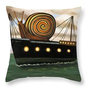 Es Cargo Throw Pillow