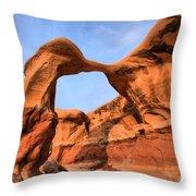 Escalante Metate Arch Throw Pillow
