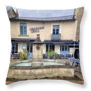 Escalier Saint Pierre Restaurant Throw Pillow