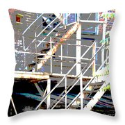 Escape 1 Throw Pillow