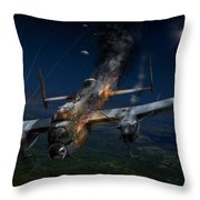 Escape At Mailly Throw Pillow