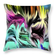 Escape From Hell Throw Pillow