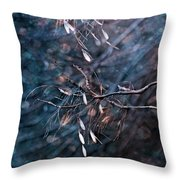 Escape From The Darkness Throw Pillow