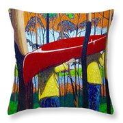 Escape Is At Hand For The Travellin' Man Throw Pillow