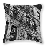 Escape Ladders  Throw Pillow