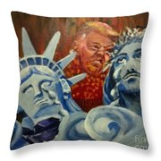 Escape On Tears Of Love And Liberty Throw Pillow by Saundra Johnson