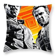 Escape Plan 2013  Throw Pillow