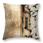 Escape Throw Pillow by Sharon Coty
