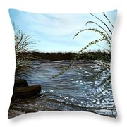 Escape With Me Throw Pillow