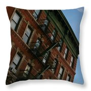 Escaping The Angles Throw Pillow
