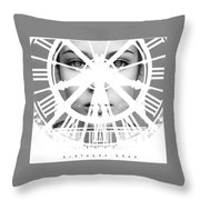 Escaping With Time  Throw Pillow