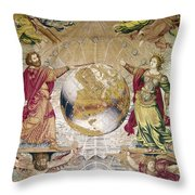 Escorial: Tapestry Throw Pillow