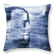Esoteric And Exoteric Visions Meet. Throw Pillow