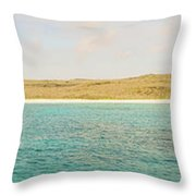 Espanola Island In Galapagos Throw Pillow