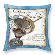 Espresso Martini Throw Pillow
