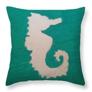 Essance Of The Sea Throw Pillow