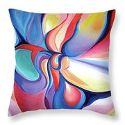 Essence Throw Pillow