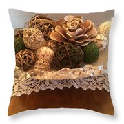 Essence Of Nature Throw Pillow