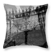 Essence Of Paris Throw Pillow