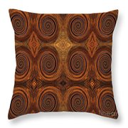 Essence Of Rust - Tiled Throw Pillow