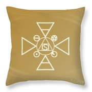 Essence Of The Spirit Throw Pillow
