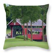 Essenhaus Bridge Throw Pillow